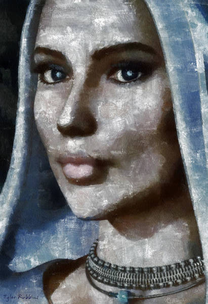 Painting - Blue Madonna by Tyler Robbins
