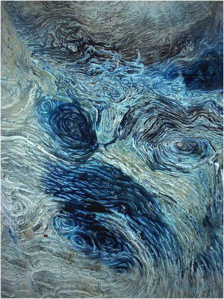 Ish Wall Art - Photograph - Blue Maze 1 by Joyce Dickens