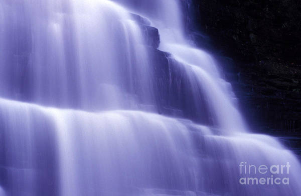 Photograph - Blue Misty Water by Paul W Faust -  Impressions of Light