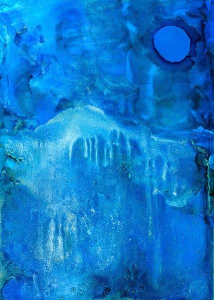 Painting - Blue Moon Dream by Priya Ghose