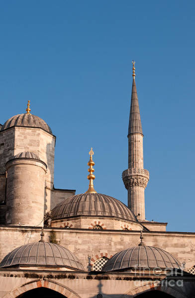 Sultan Ahmet Camii Wall Art - Photograph - Blue Mosque 02 by Rick Piper Photography