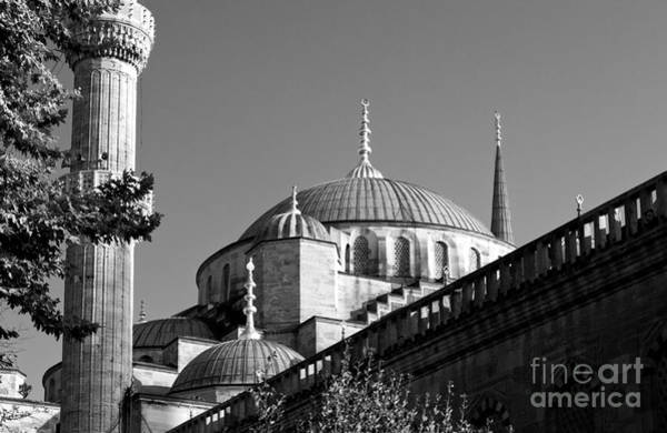 Sultan Ahmet Camii Wall Art - Photograph - Blue Mosque 04 by Rick Piper Photography