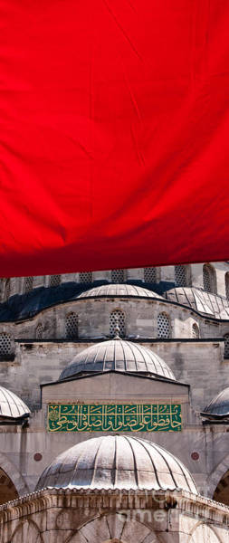 Wall Art - Photograph - Blue Mosque Domes 04 by Rick Piper Photography