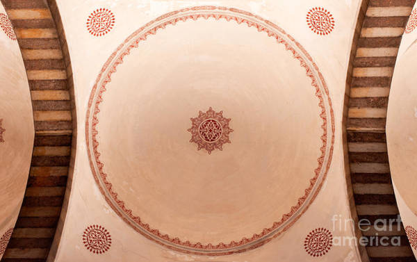 Sultan Ahmet Camii Wall Art - Photograph - Blue Mosque Portico Ceiling by Rick Piper Photography