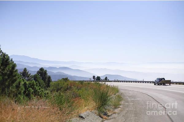 Photograph - Blue Mountains by Richard J Thompson