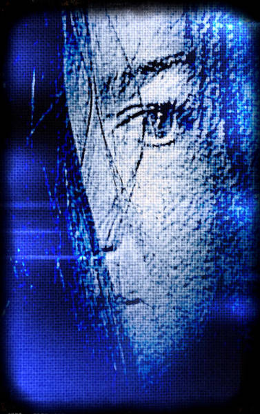 Photograph - Blue Mourning by Susan Maxwell Schmidt