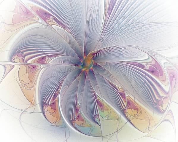 Digital Art - Blue Movement by Amanda Moore