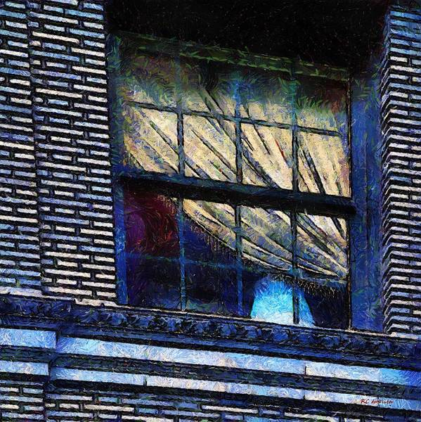 Painting - Blue Night In New York by RC DeWinter