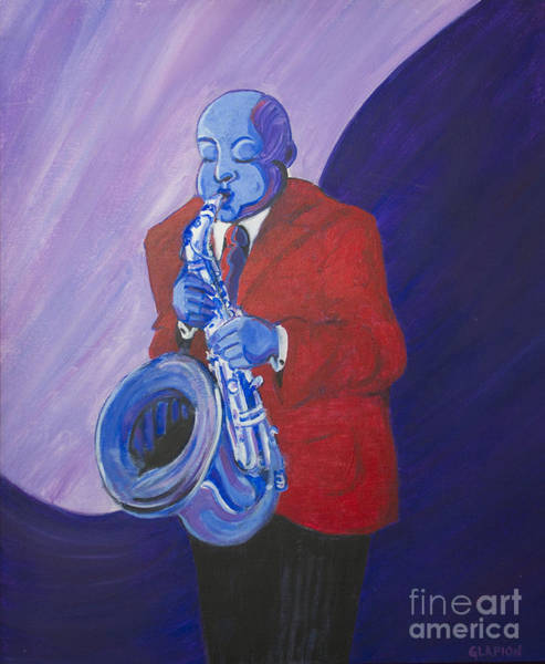 Painting - Blue Note by Dwayne Glapion