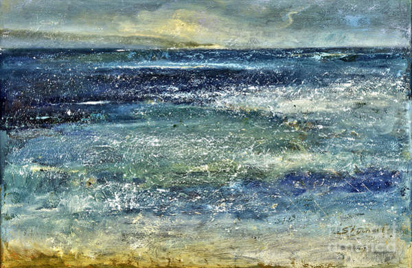 Painting - Blue Ocean by Shijun Munns