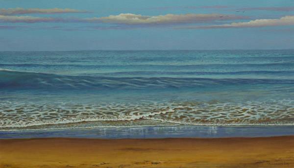 Wall Art - Painting - Blue Ocean by Vrindavan Das