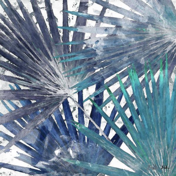 Organic Mixed Media - Blue Organic I by Patricia Pinto