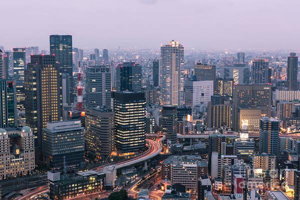 Photograph - Blue Osaka by Didier Marti