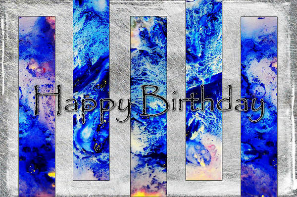 Photograph - Blue Panels by Randi Grace Nilsberg