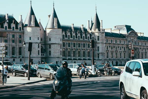 Cours Photograph - Blue Paris by Pati Photography