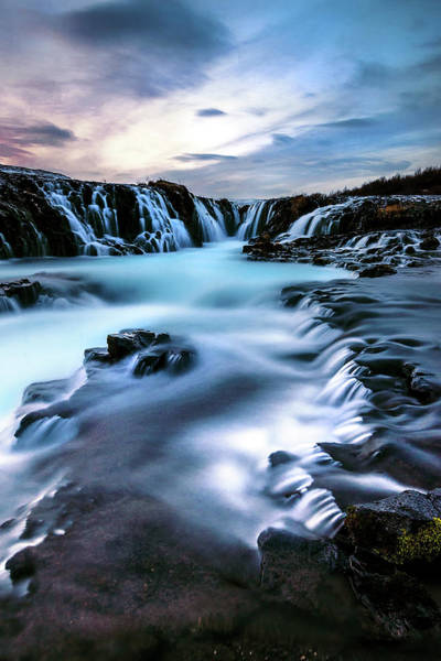 Golden Circle Photograph - Blue Pool by Naphat Photography