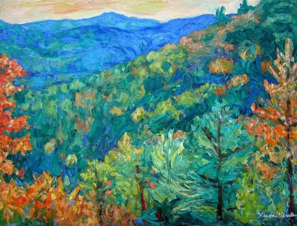 Painting - Blue Ridge Autumn by Kendall Kessler