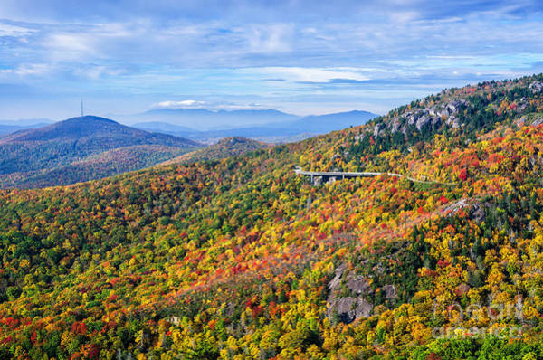 Wall Art - Photograph - Blue Ridge Colors by Anthony Heflin