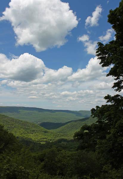 Seasonal Wall Art - Photograph - Blue Ridge Mountain Scenic - Craig County Va IIi by Suzanne Gaff