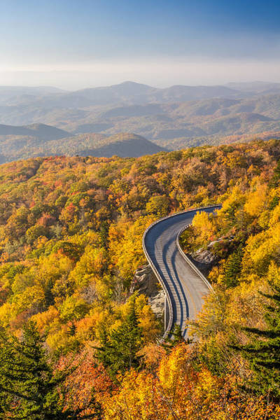 Photograph - Blue Ridge Parkway In Autumn by Pierre Leclerc Photography
