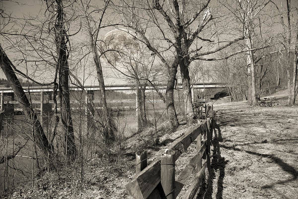 Moonscape Photograph - Blue Ridge Parkway Mystic by Betsy Knapp