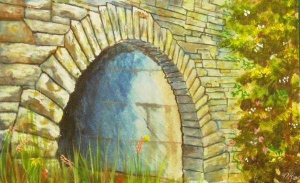 Painting - Blue Ridge Tunnel by Nicole Angell