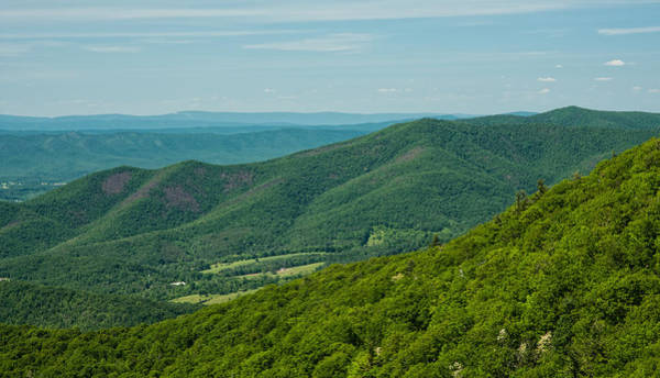 Blue Ridge Vista Art Print