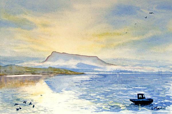 Painting - Blue Rigi by Glenn Marshall
