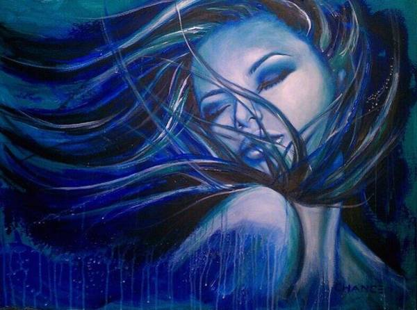 Painting - Blue by Robyn Chance