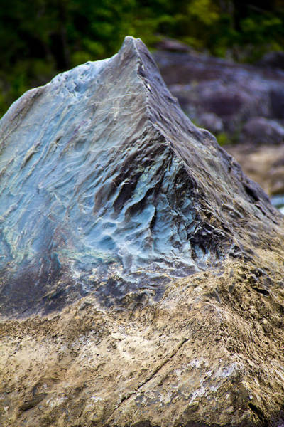 Photograph - Blue Rocks Awesome Nature by Debbie Cundy