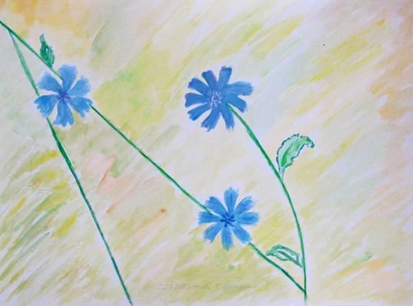 Blue Sailors Art Print