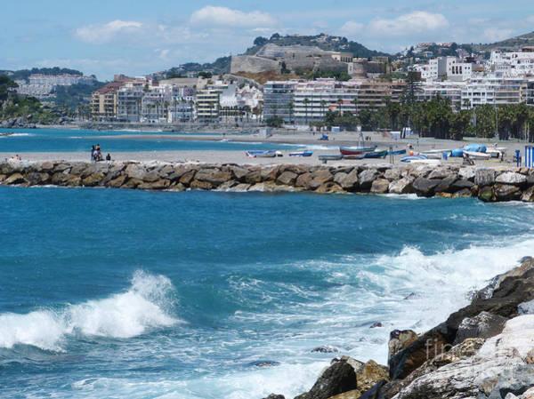 Photograph - Blue Sea - Almunecar - Spain by Phil Banks