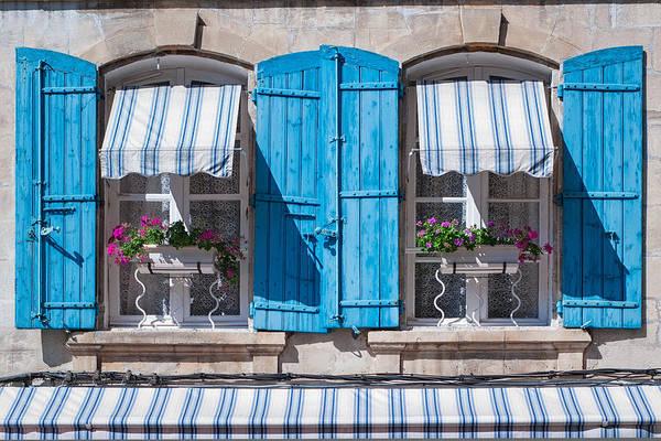 Photograph - Blue Shudders by Michael Blanchette