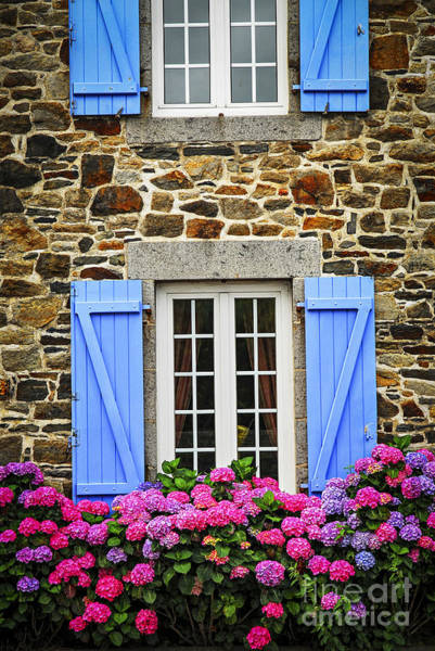 Photograph - Blue Shutters by Elena Elisseeva