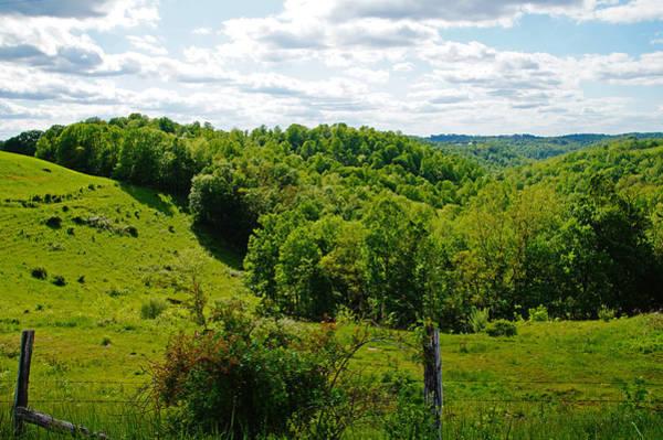 Photograph - Blue Skies In West Virginia by Mike Murdock