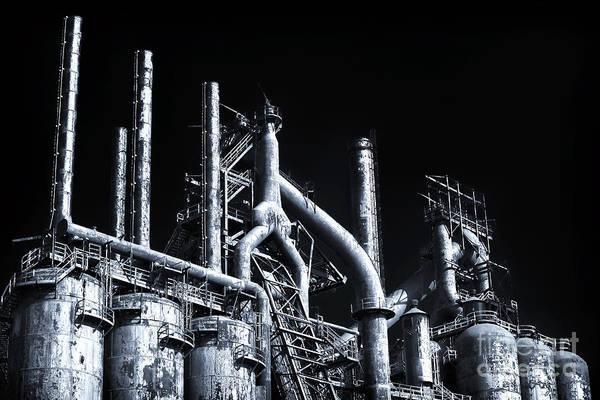 Photograph - Blue Steel by John Rizzuto