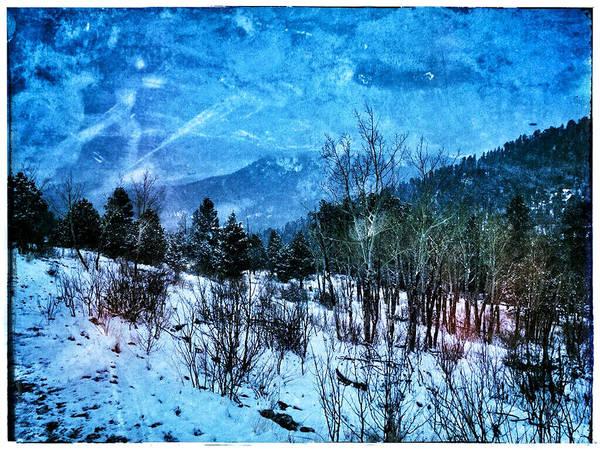 Digital Art - Blue Storm by Dan Miller