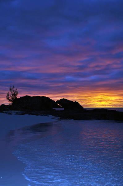 Romantic Wall Art - Photograph - Blue Sunset by Ernesto Cinquepalmi