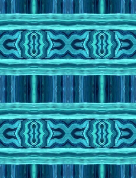 Painting - Blue Teal Dreams by Barbara St Jean