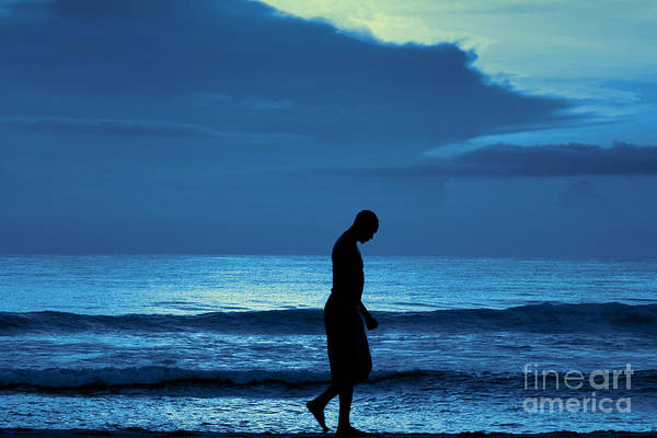 Photograph - Blue Thoughts by Jeff Breiman