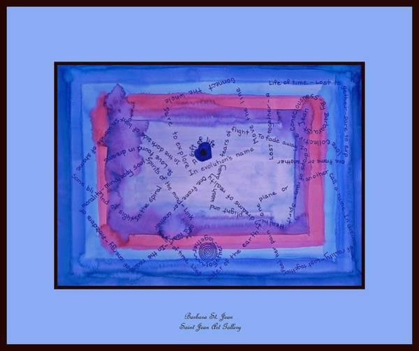 Digital Art - Blue Threads by Barbara St Jean