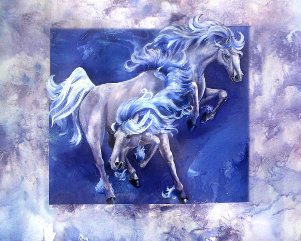 Painting - Blue Thunder by Sherry Shipley