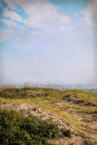 Photograph - Blue Tranquility Beyond by Paulette B Wright
