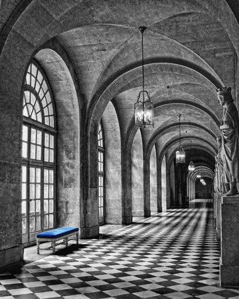 Versailles Wall Art - Photograph - Blue Velvet by Nikolyn McDonald