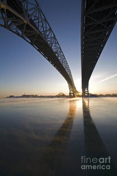 Photograph - Blue Water Bridge by Jim West