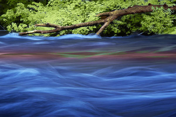 Photograph - Blue Water Flowing On The Thornapple River by Randall Nyhof