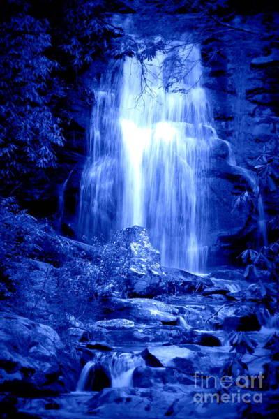 Photograph - Blue Waterfall by Cynthia Mask
