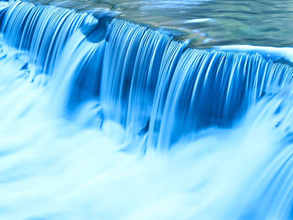 Shannon Falls Wall Art - Photograph - Blue Waters by Shannon Workman