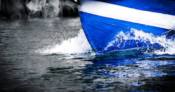 Photograph - Blue Waters by Sotiris Filippou