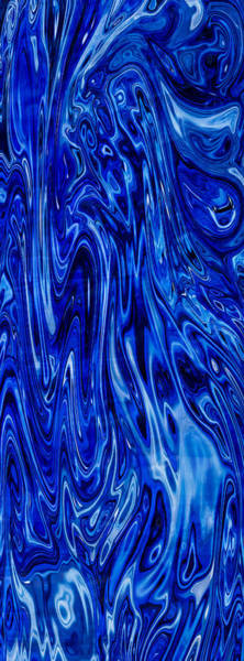 Painting - Blue Waves Of Beauty by Omaste Witkowski